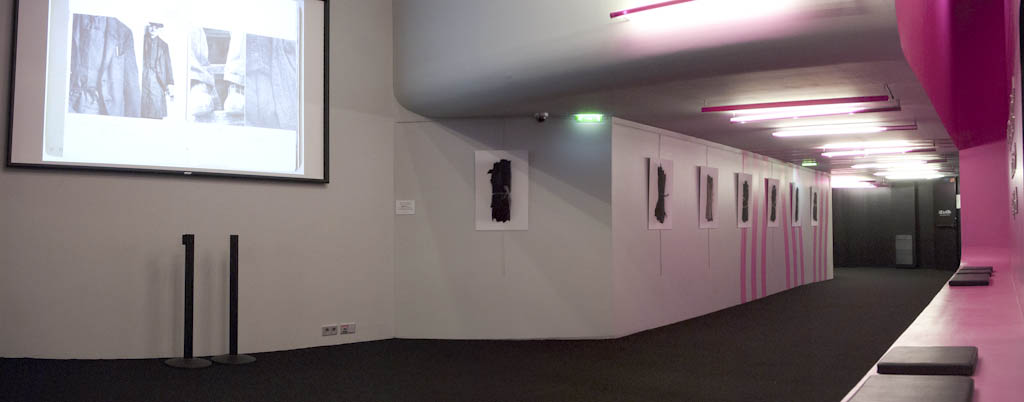 View of Manon Gignoux Exhibition, 2011.