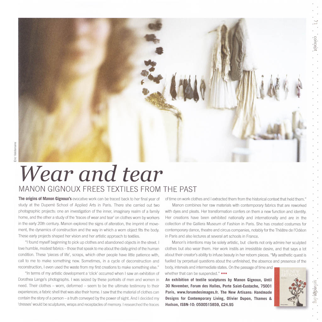 Magazine SELVEDGE N°43 Nov/Dec 2011