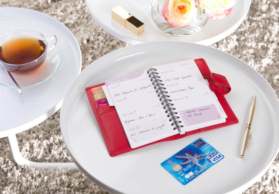 """Visa Classic """"Femme"""" Agenda"""