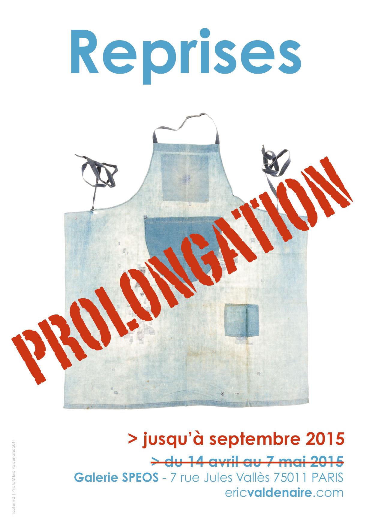"""Prolongation exposition """"Reprises"""""""