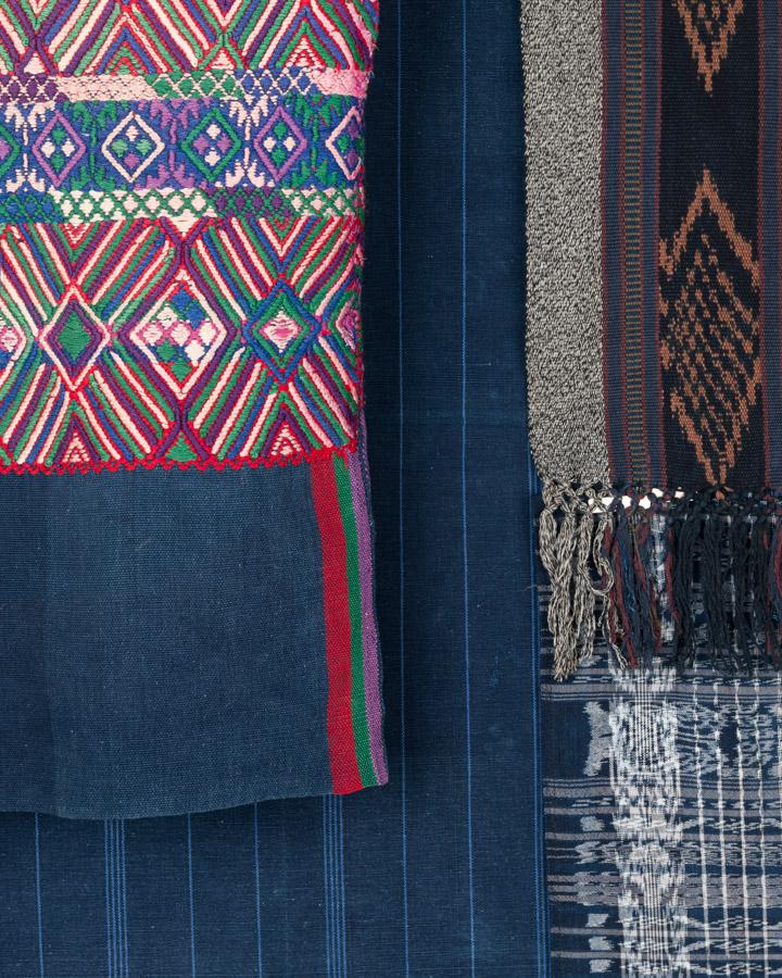 Indigo - Vêtements et textiles du monde