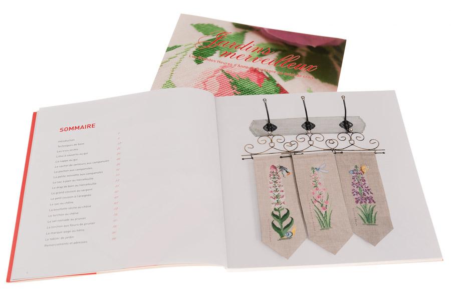 Jardins merveilleux | Couverture et pages 6-7