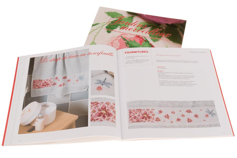 Jardins merveilleux | Couverture et pages 48-49