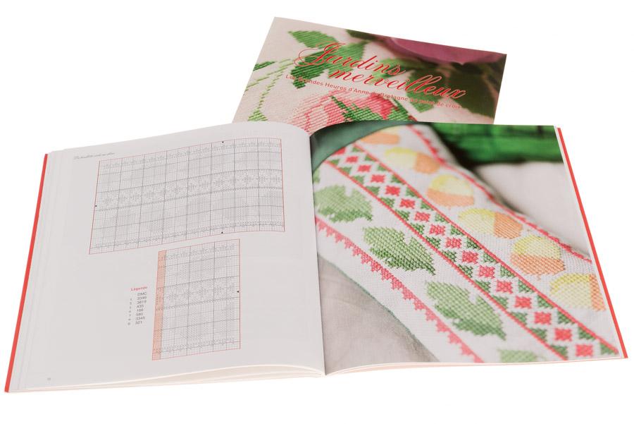 Jardins merveilleux | Couverture et pages 70-71